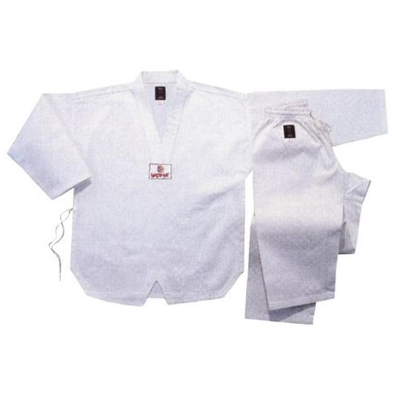 Униформа для таэквондо белая 130-180 см