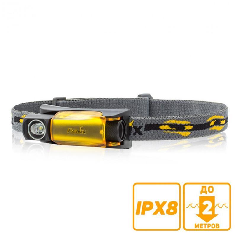 Фонарь Fenix HL10 с батарейкой