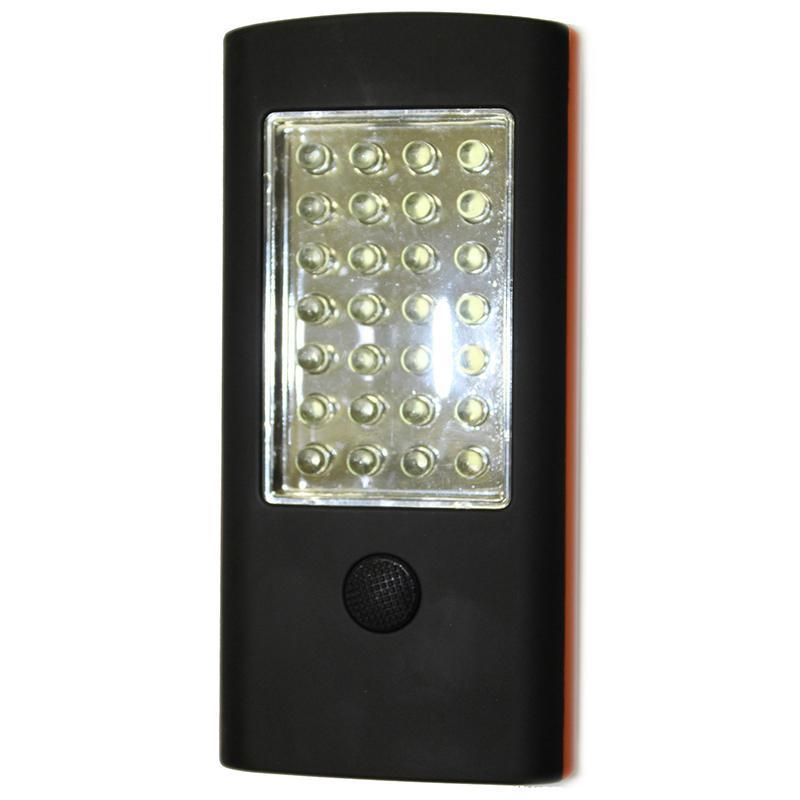Фонарь кемпинговый 28+4 LED, крючок, магнит