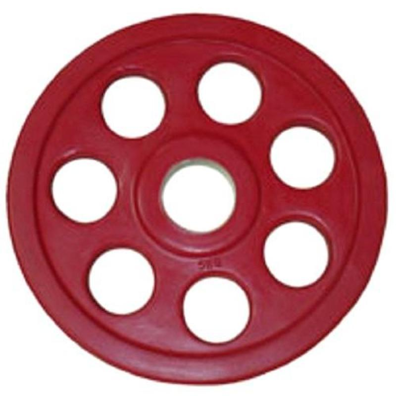 Олимпийский диск евро-классик с хватом Ромашка 5 кг диаметр 51 мм