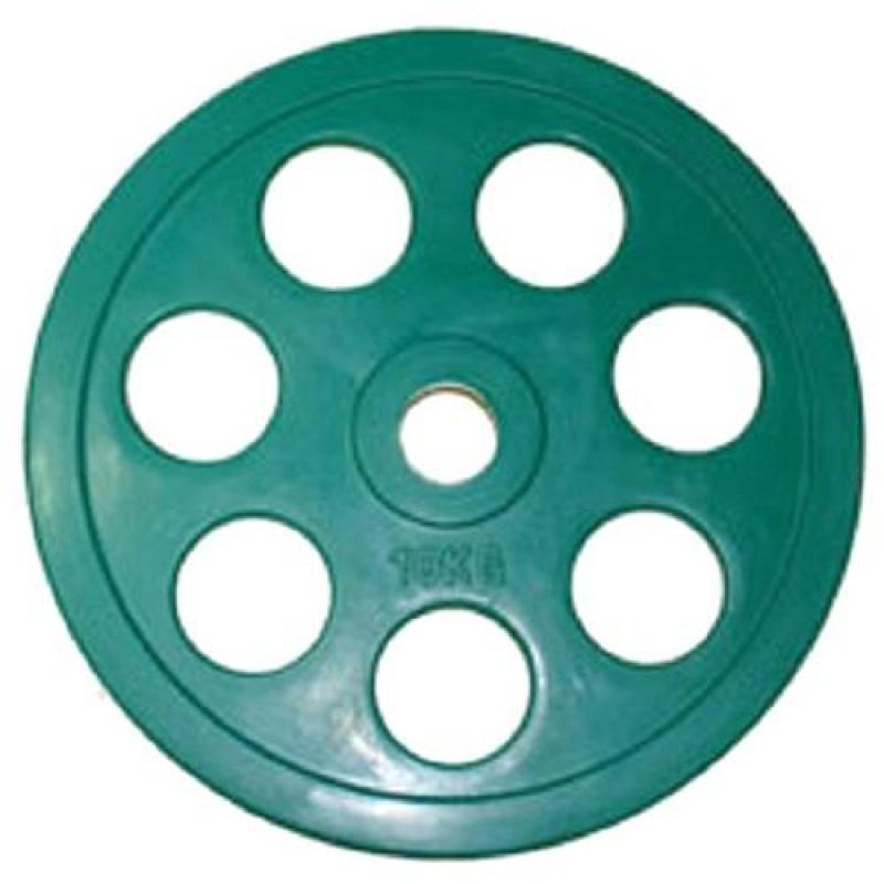 Олимпийский диск евро-классик с хватом Ромашка 10 кг диаметр 51 мм