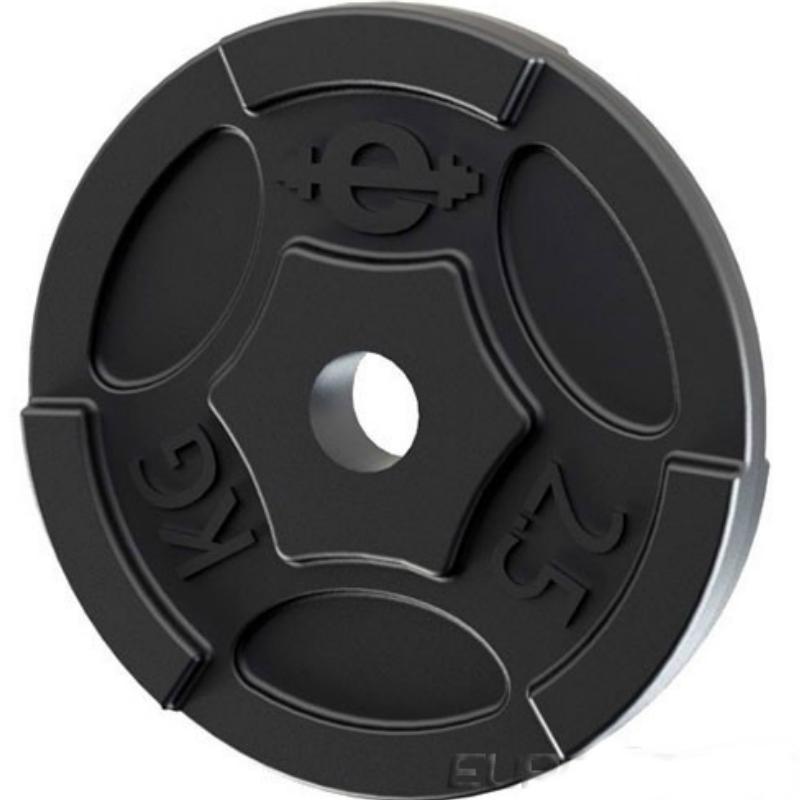 Диск чугунный окрашенный EURO-CLASSIC 2,5 кг диаметр 26 мм