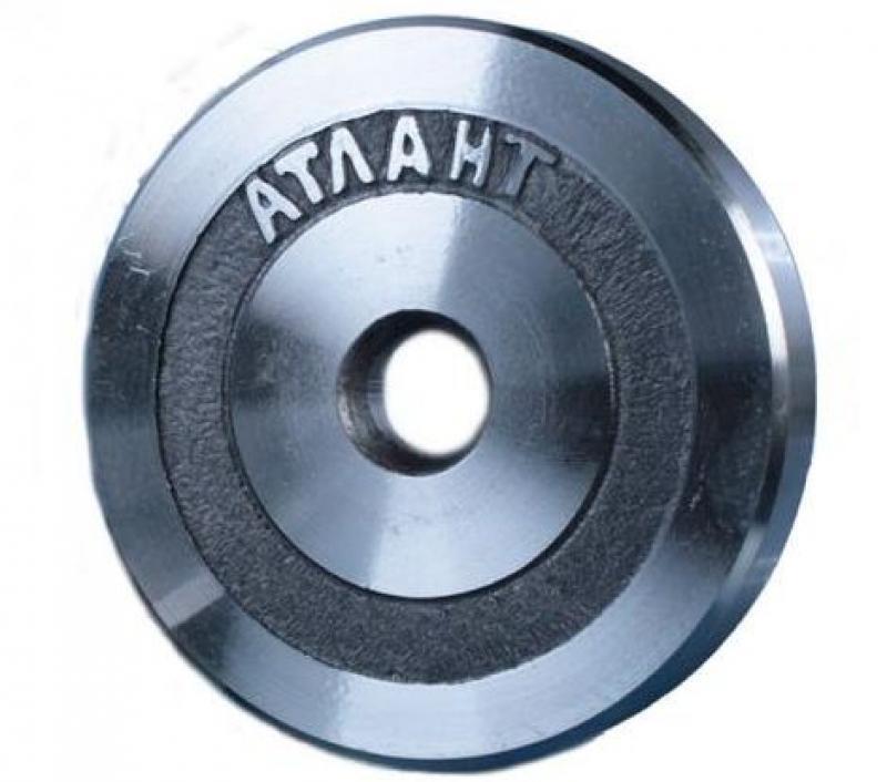 Гайка металлическая АТЛАНТ с накаткой вес 1 кг диаметр 26мм