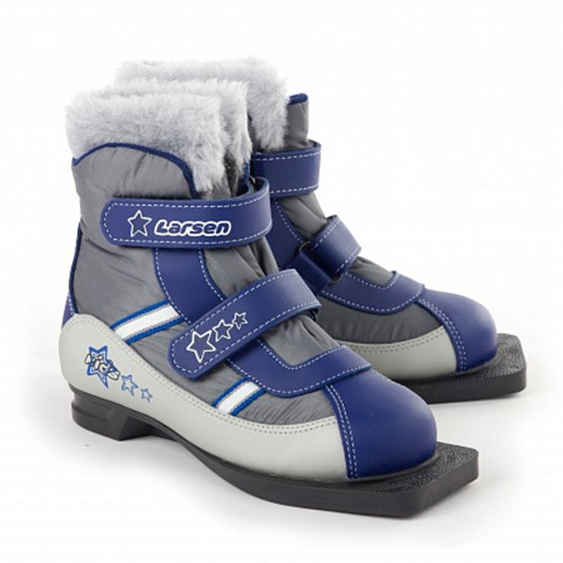 Ботинки лыжные LARSEN Kids Velcro