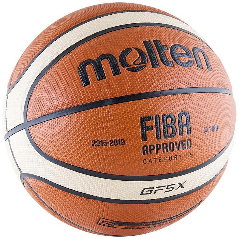 Мяч баскетбольный Molten BGF5X (6X, 7X)