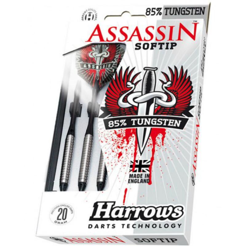 Дротики HARROWS ASSASIN 80 Softip (для электронного дартса)