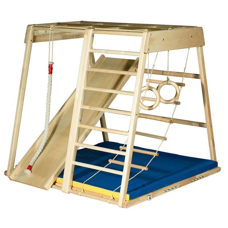 Детский спортивный комплекс KIDWOOD Домино (комплектация Оптима)