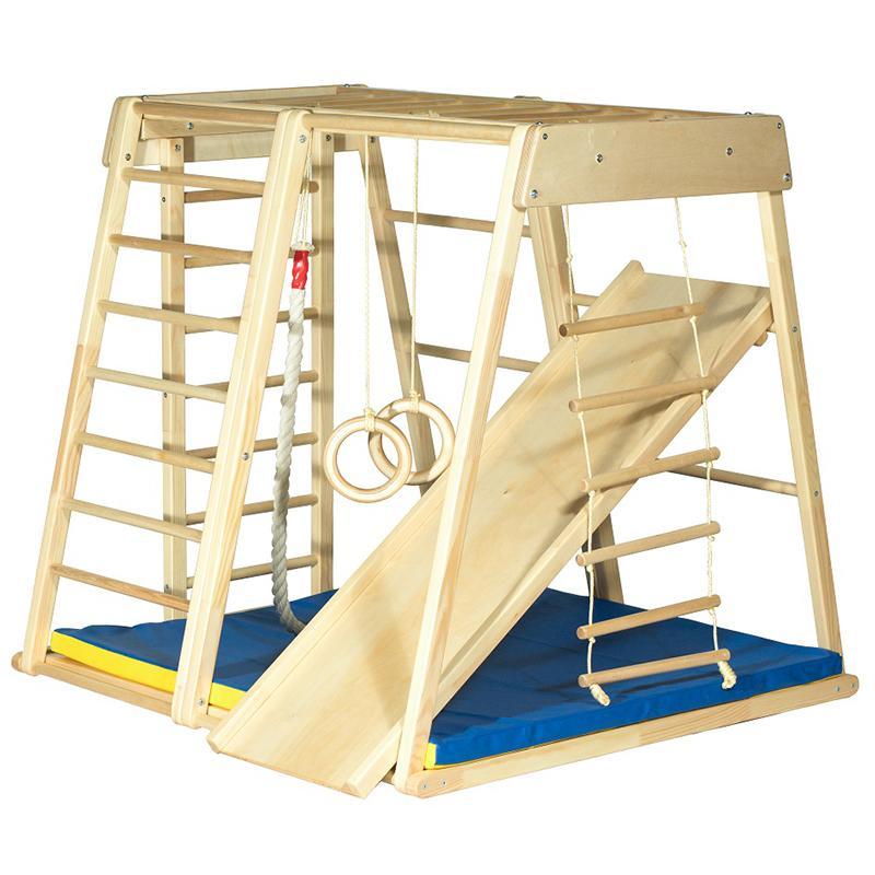 Детский спортивный комплекс KIDWOOD Ракета (комплектация Оптима)