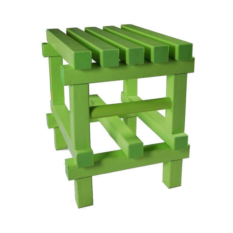 Табурет для ванной, душевой, зеленый 011-0266