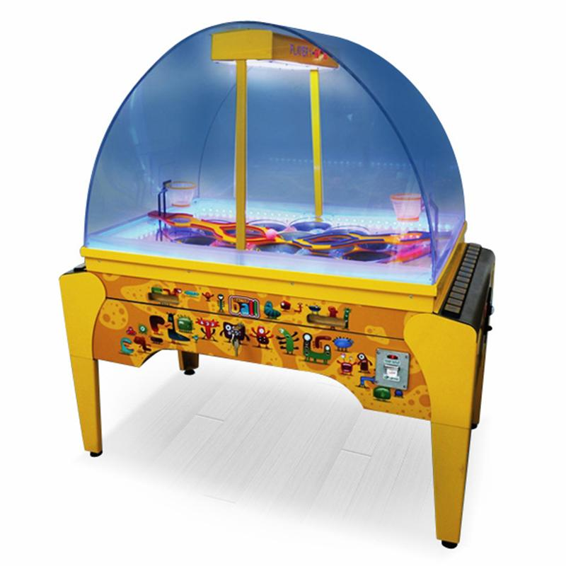 Интерактивный автомат баскетбол Bacterball (145 x 80 x 160 см)