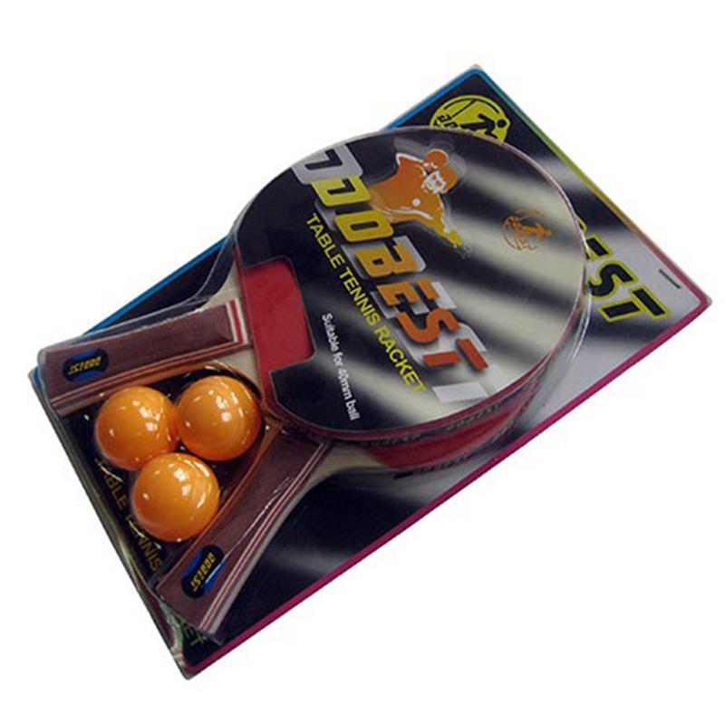 Набор для н/тенниса DOBEST BR06 0 звезд (2 ракетки + 3 мяча)