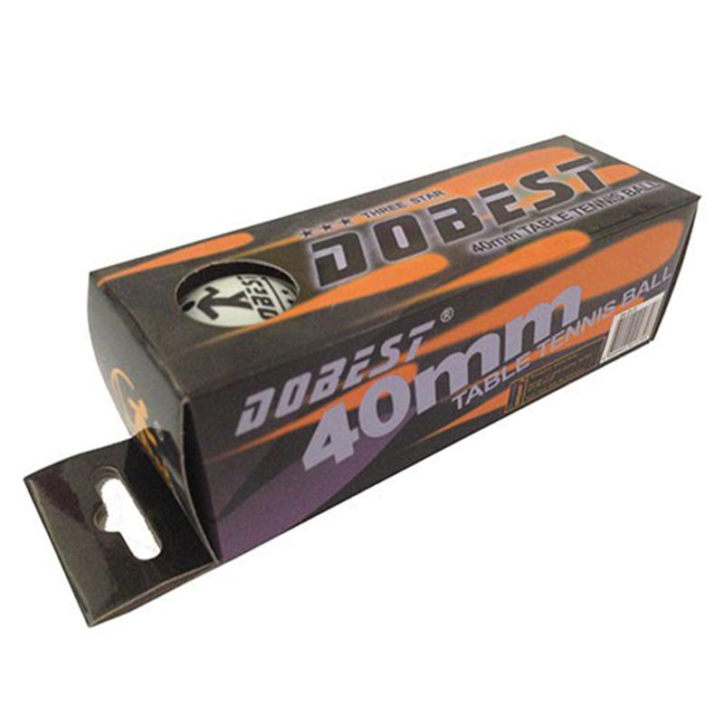 Мяч для настольного тенниса DOBEST BA-01 *** (3 шт.)