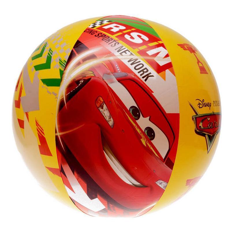 Мяч надувной INTEX Тачки 58053 (61 см, от 3 лет)