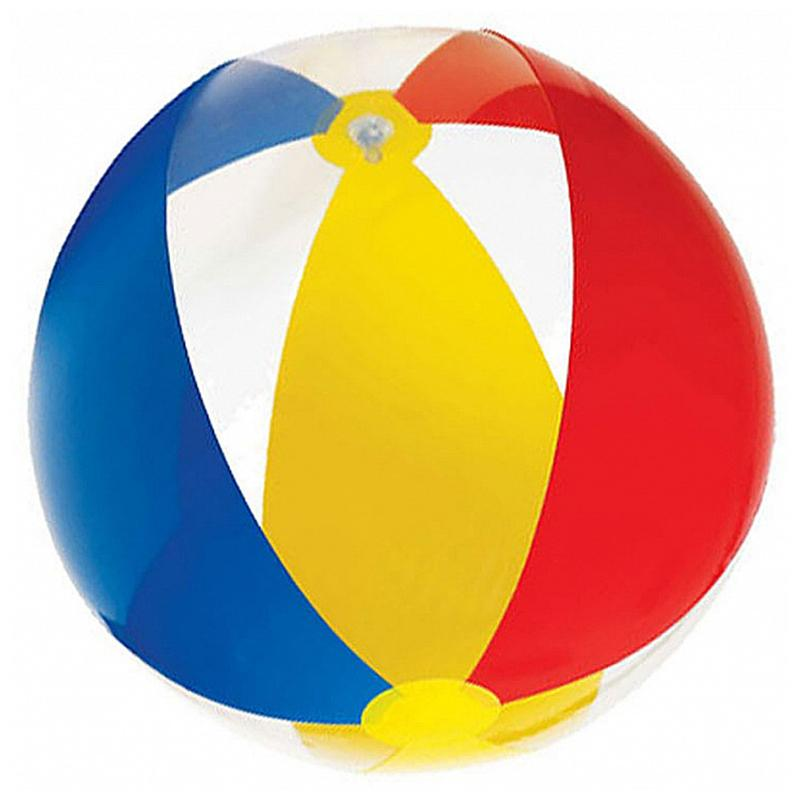 Мяч надувной INTEX Paradise 59032 (61 см, от 3 лет)