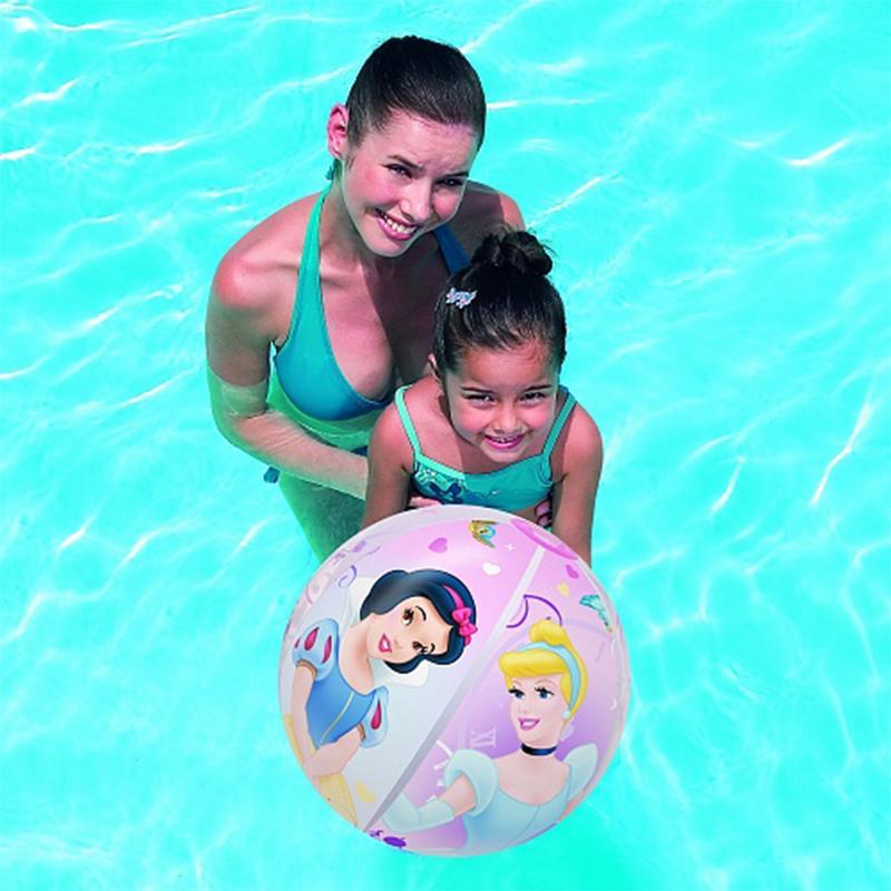 Мяч надувной BESTWAY Princess 91042 (51 см, от 2 лет)
