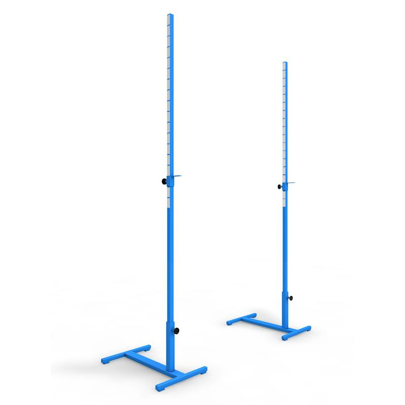 Стойки для прыжков в высоту АТЛАНТ переменной высоты до 2,2 м