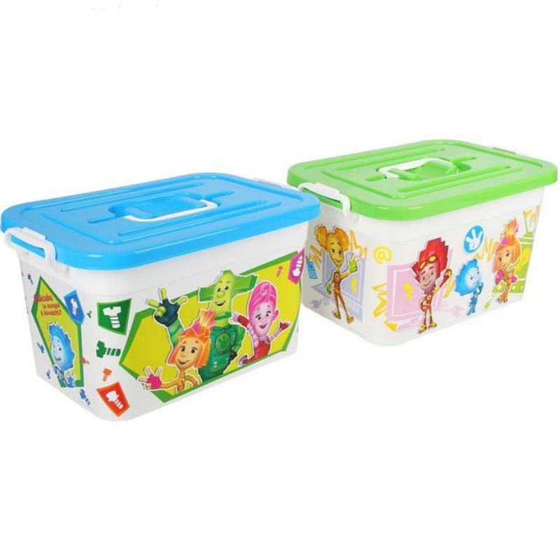 Ящик для игрушек  Фиксики 33 х 22 х 22 см 10л