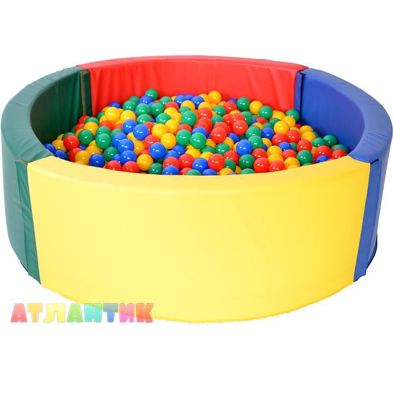 Сухой бассейн круглый АК (200х50х10)