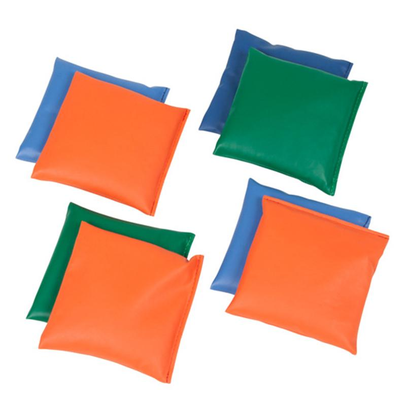 Мешочки для равновесия АК комплект 12 шт. (200гр.) 15х15 см