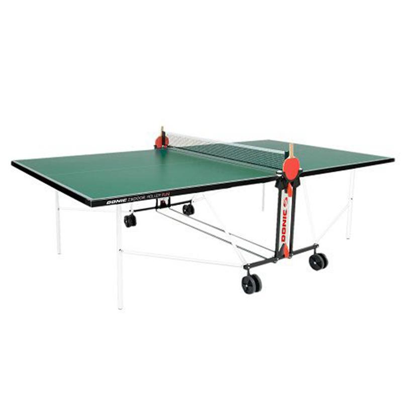 Теннисный стол Donic Indoor Roller FUN зеленый 230235-G