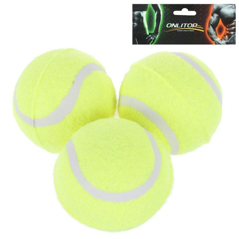 Мяч для большого тенниса ONLITOP в пакете (3 шт.)