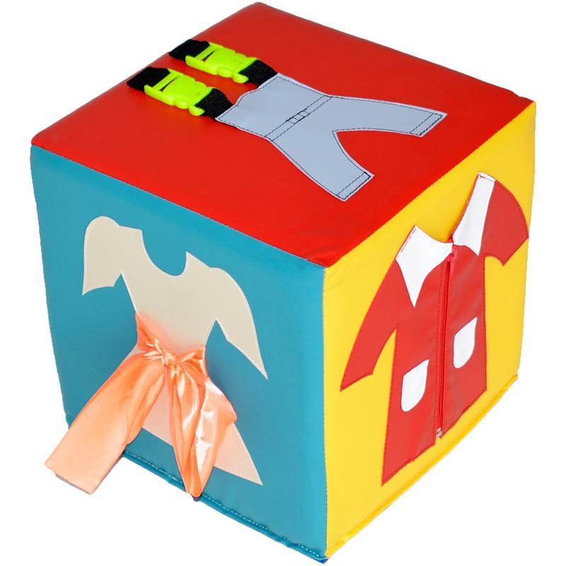Куб для развития мелкой моторики АК Одежда