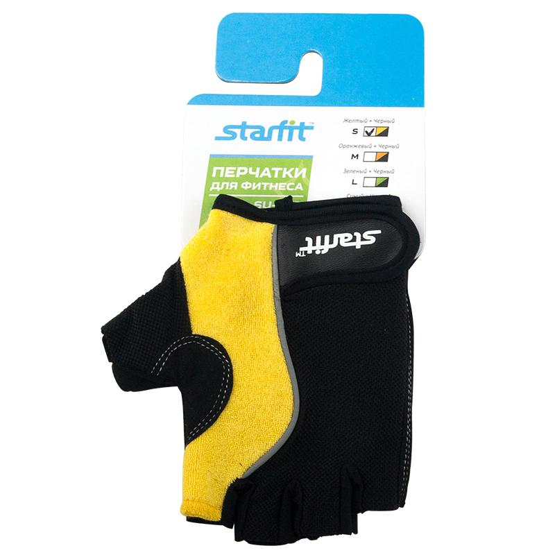 Перчатки для фитнеса STARFIT SU-108