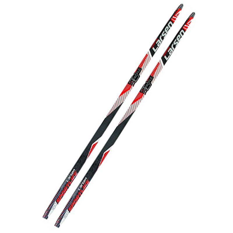 Лыжи полупластиковые LARSEN Sport Life WAX (175-205 см)