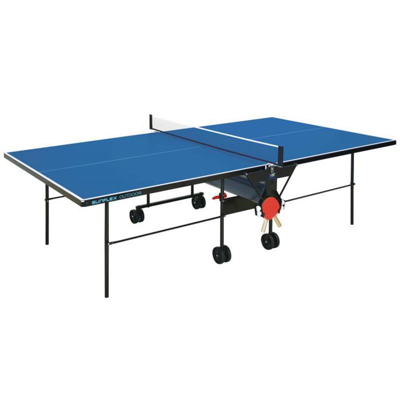 Всепогодный теннисный стол SUNFLEX Outdoor с сеткой