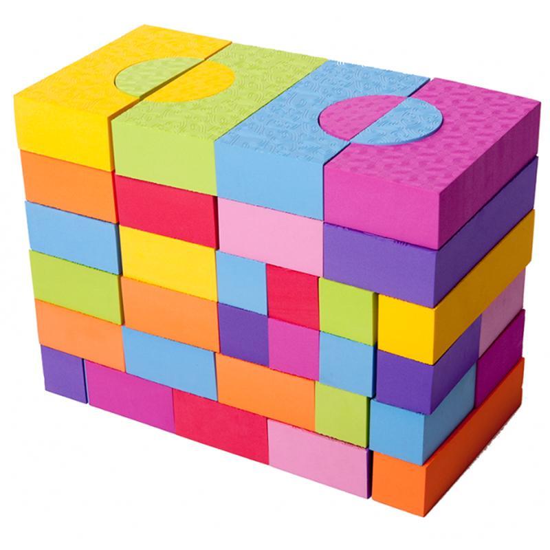 Игровой набор 68 блоков MOOVE & FUN MF-EVA-10