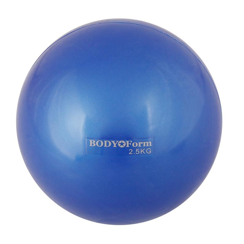 Мяч для пилатеса BODY FORM BF-TB01 (2,5 кг, 15 см)
