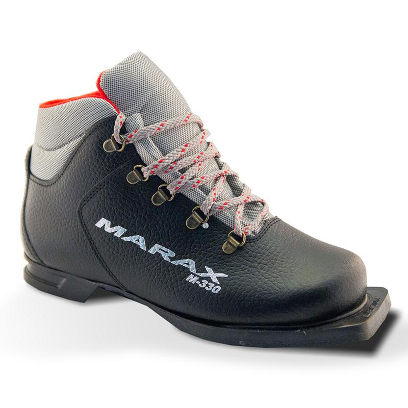 Ботинки лыжные MARAX M-330 из натуральной кожи