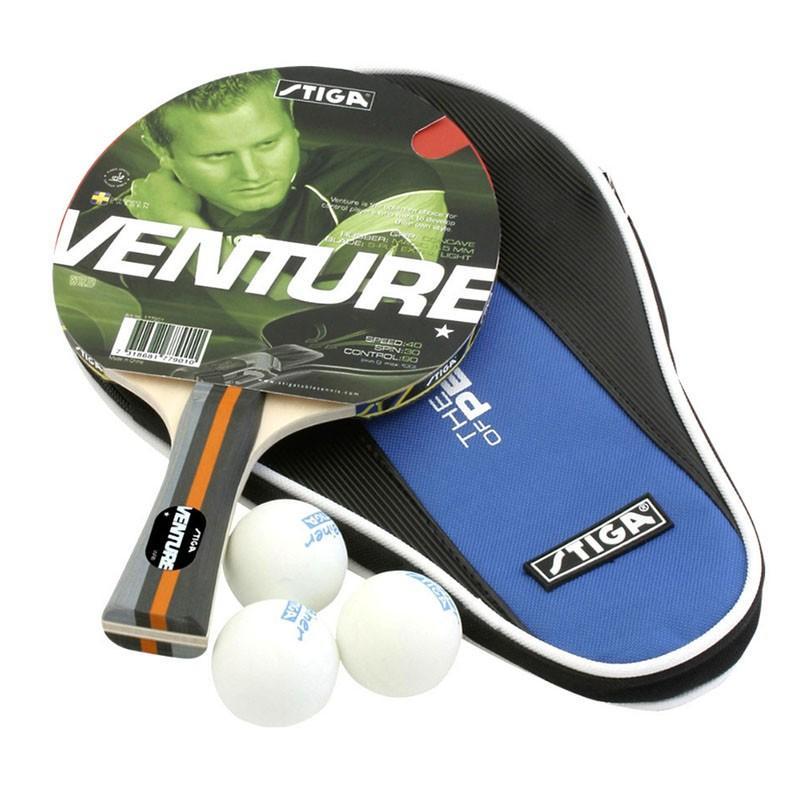 Набор для н/тенниса STIGA Duet (ракетка, чехол, 3 мяча)
