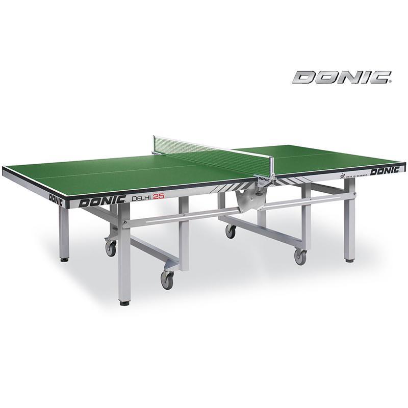 Теннисный стол DONIC Delhi 25 профессиональный зеленый 400241-G