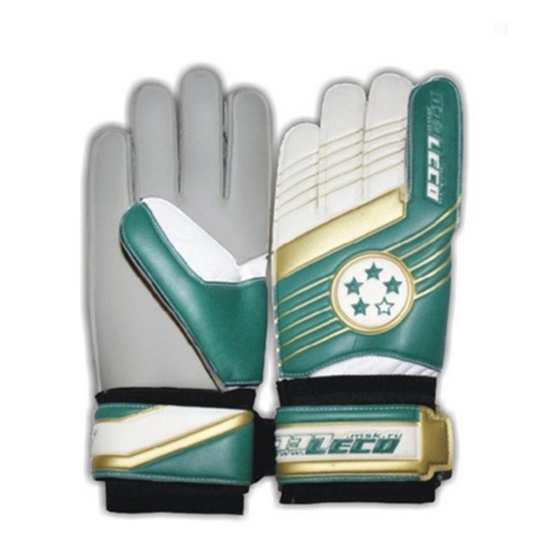 Перчатки футбольные вратарские LECO 4 звезды