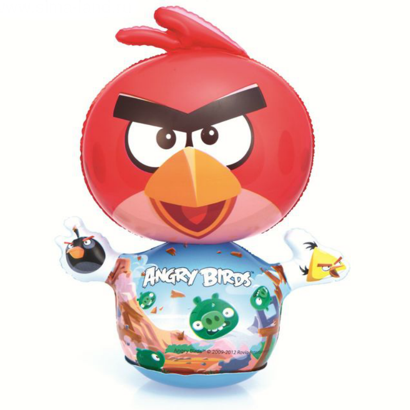 Боксерский мешок мини Bestway 96112 Angry Birds, от 1 года SL