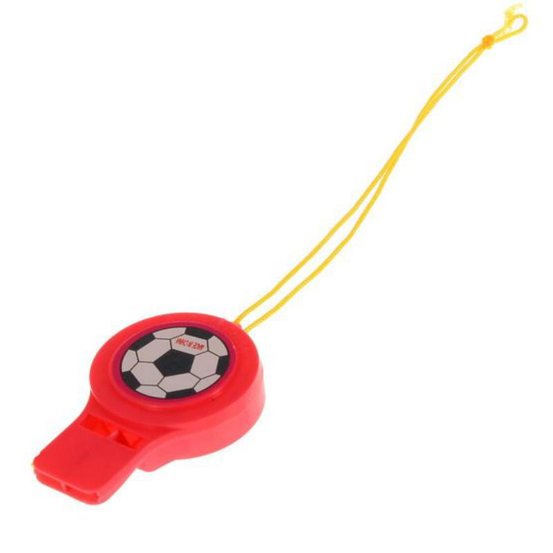 Свисток SL Футбол на веревочке