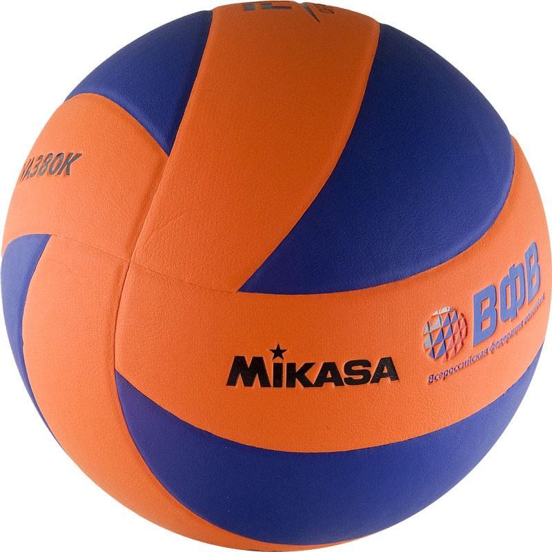 Мяч волейбольный MIKASA MVA380K-OBL