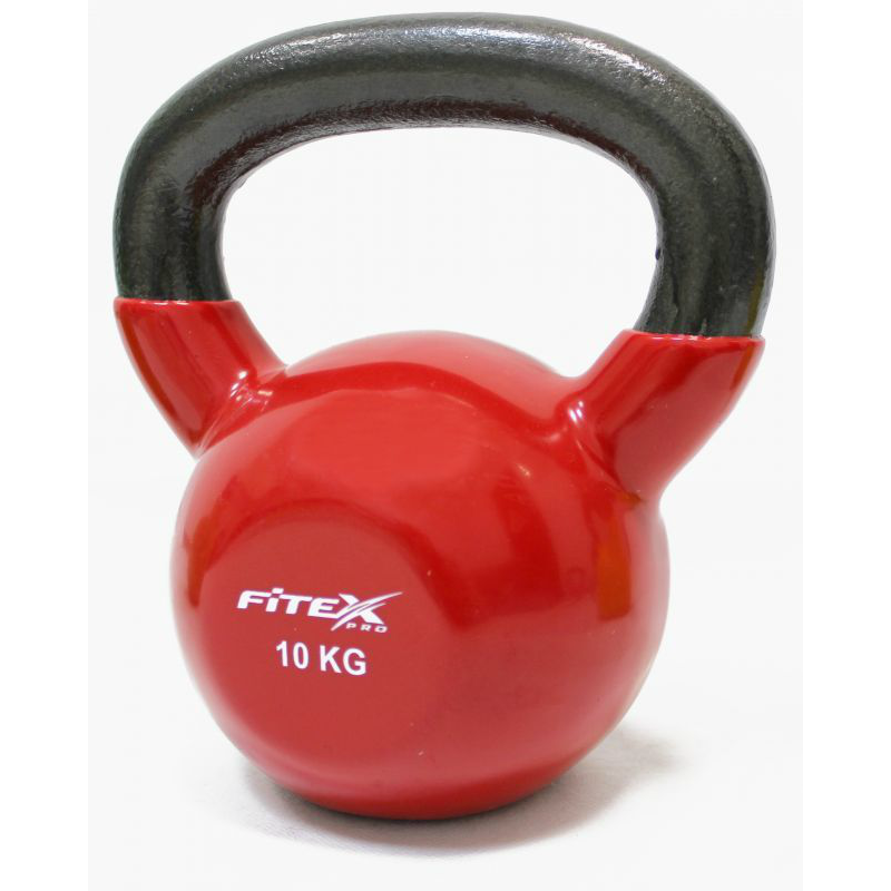 Гиря в виниловой оболочке FITEX PRO FTX2201-10 10 кг