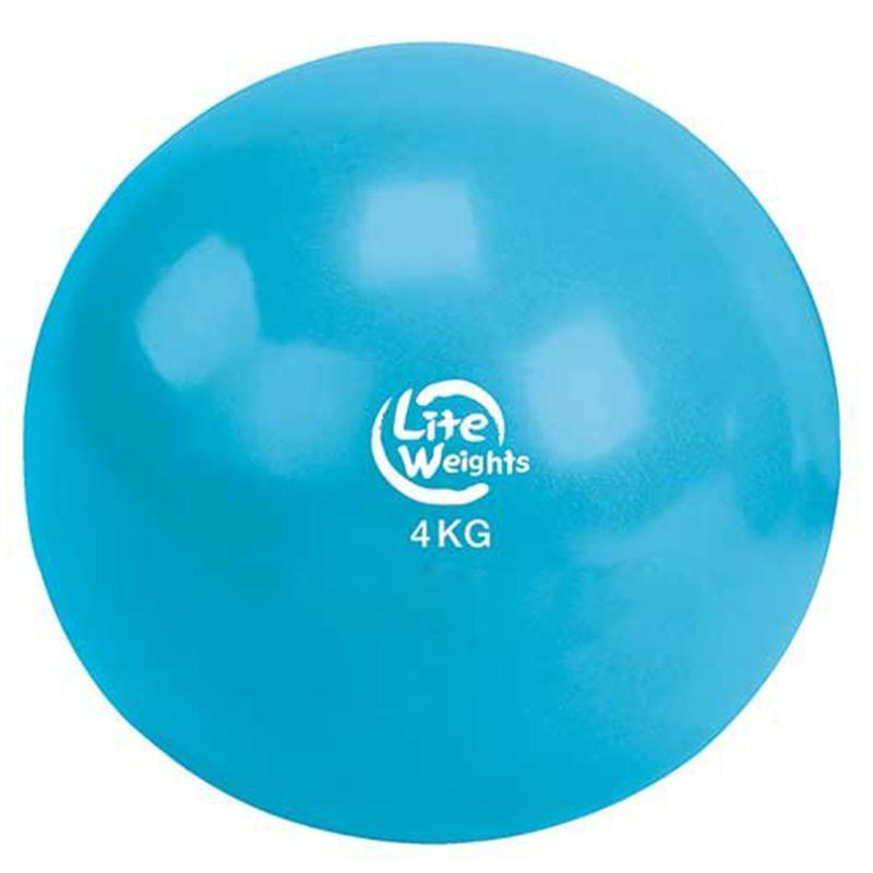 Медбол LITE WEIGHTS 1704LW 4 кг