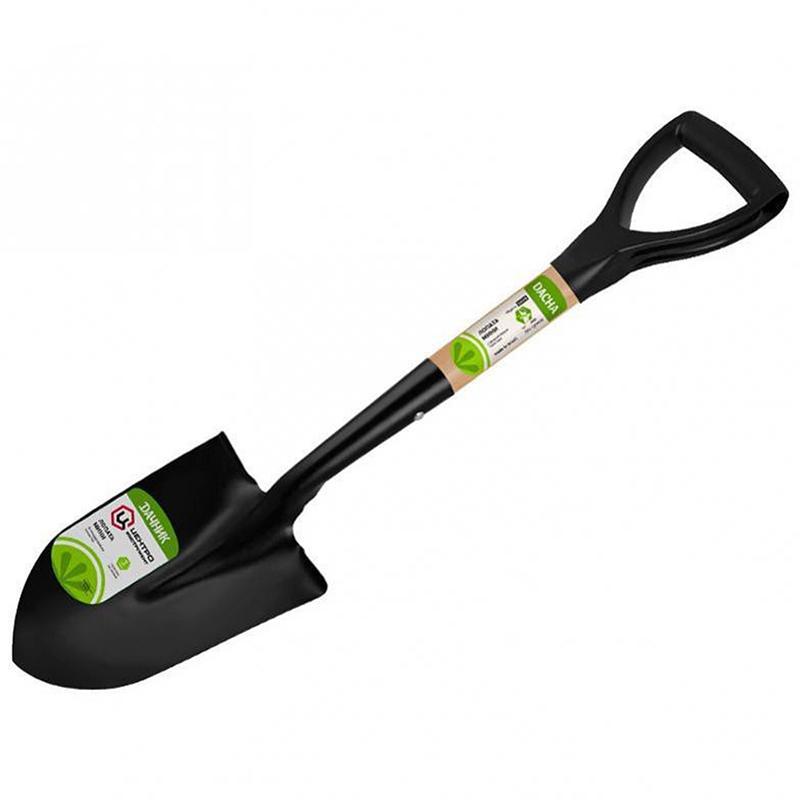 Лопата штыковая, с черенком, ручкой SL
