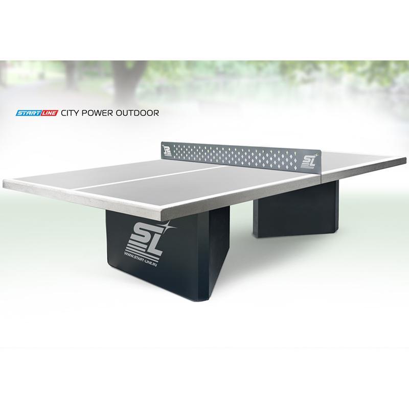 Теннисный стол всепогодный START LINE City Power Outdoor антивандальный