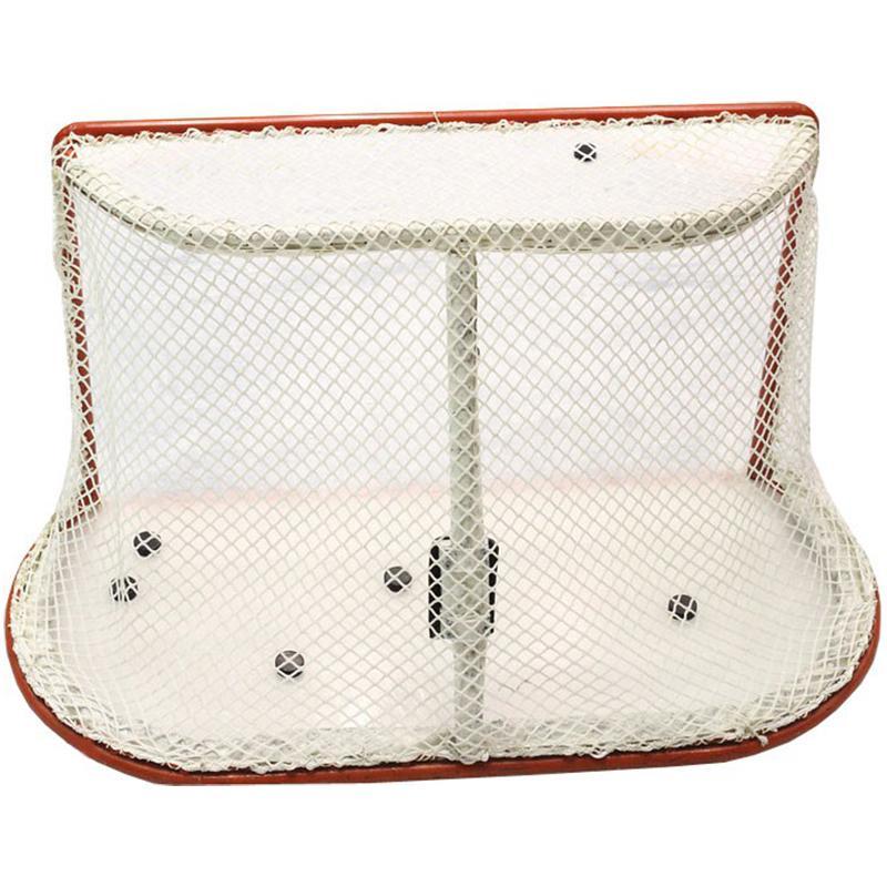 Сетка для хоккейных ворот Стандарт (белая нить 4 мм)