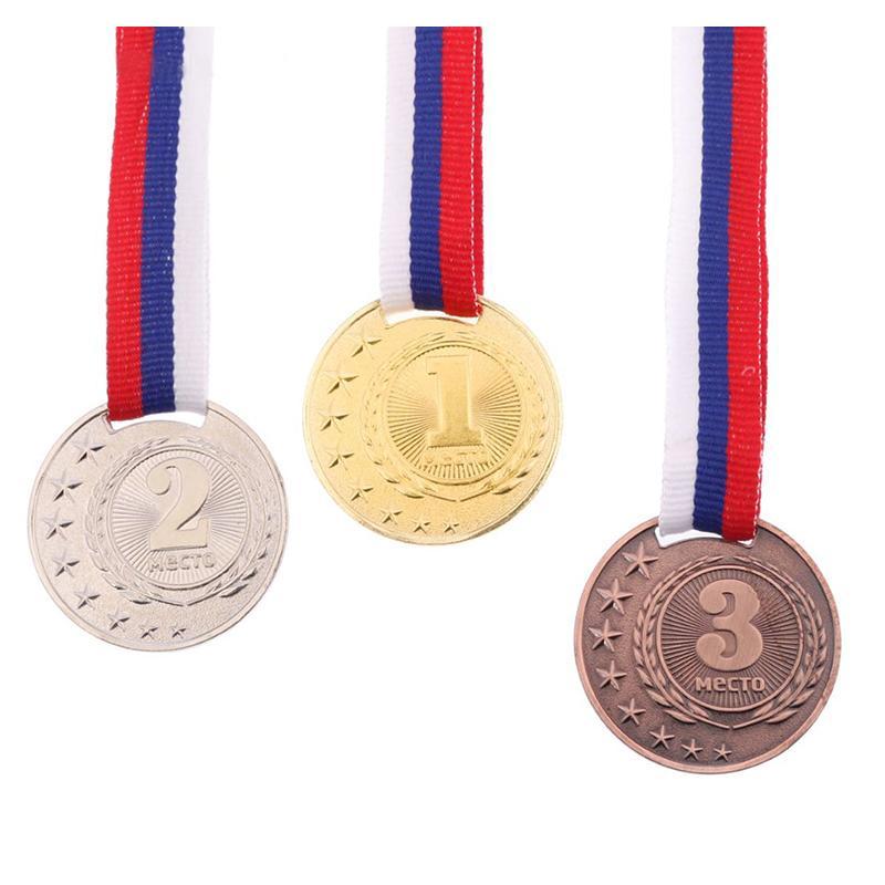 Медаль 4 см SL 064 призовая (с лентой)