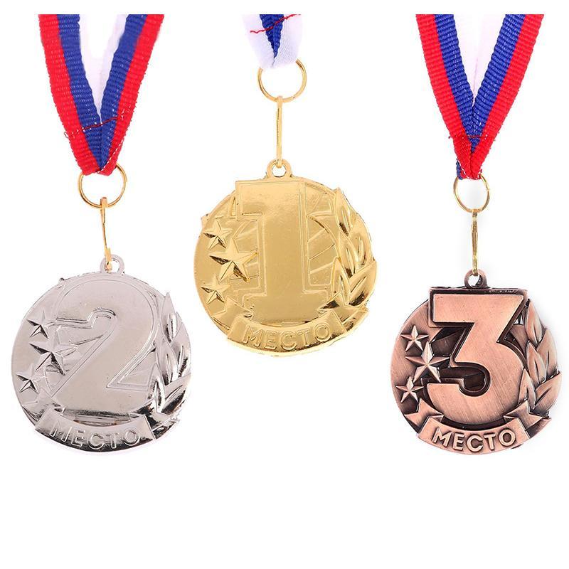 Медаль 4,6 см SL 071 призовая (с лентой)