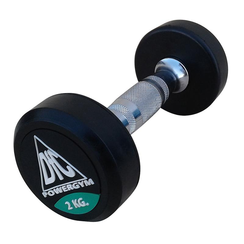 Гантель обрезиненная DFC POWERGYM DB002-2 2 кг
