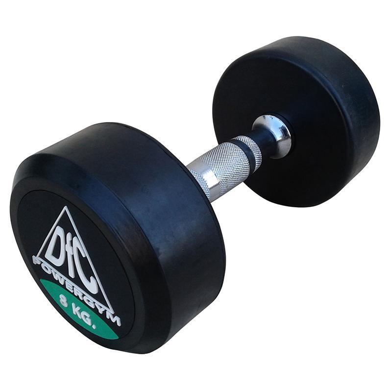 Гантель обрезиненная DFC POWERGYM DB002-8 8 кг