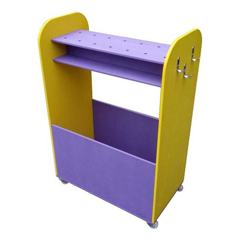 Уголок детский передвижной, с отделом для флажков и ленточек ФС