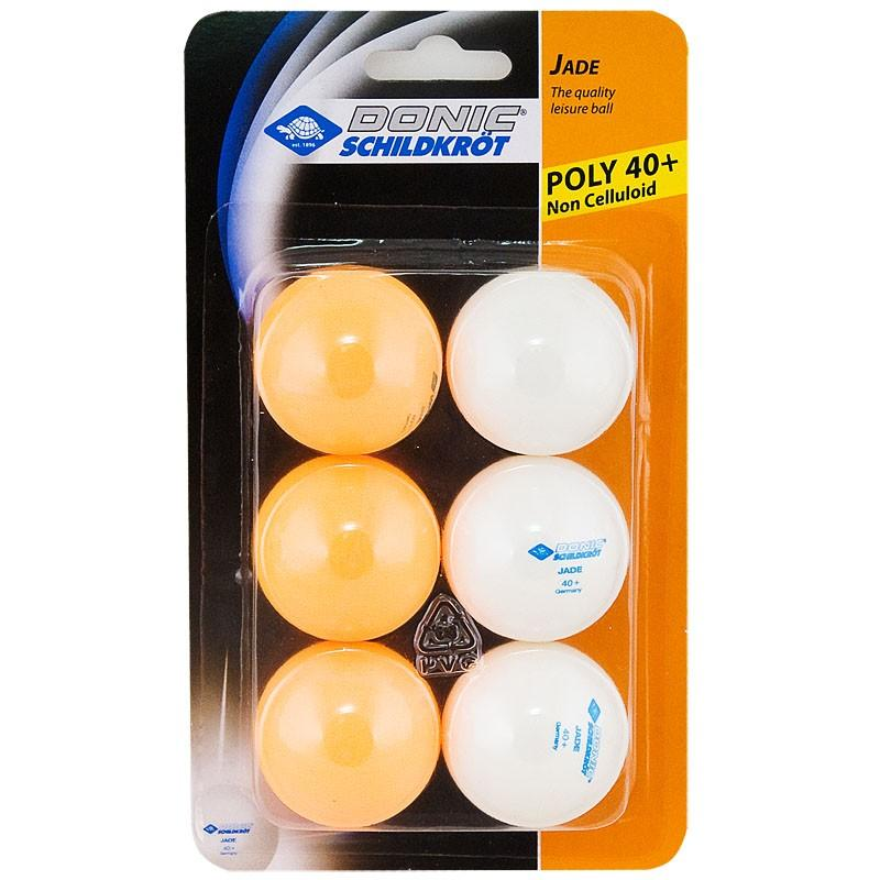Мячи для настольного тенниса DONIC-Schildkroet Jade (6 шт.)
