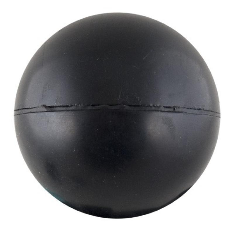 Мяч для метания из литой резины 6 см